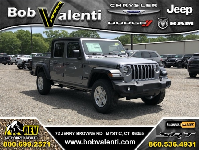 New 2020 Jeep Gladiator SPORT S 4X4 Crew Cab For Sale/Lease Mystic, CT