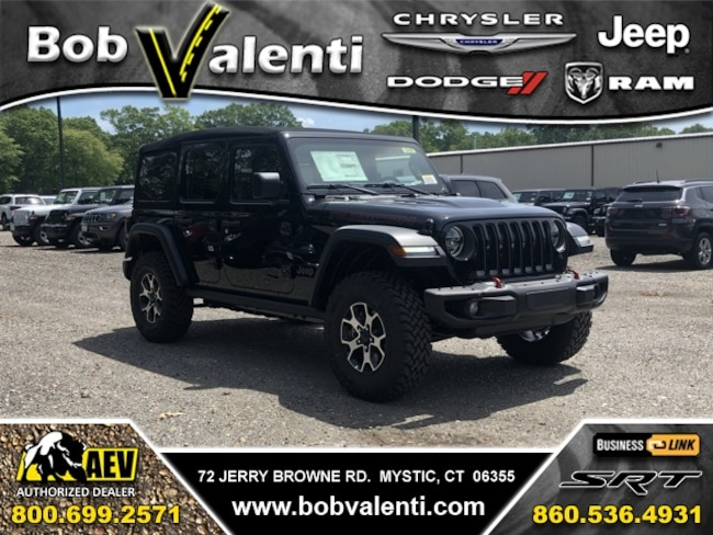 New 2019 Jeep Wrangler UNLIMITED RUBICON 4X4 Sport Utility For Sale/Lease Mystic, CT