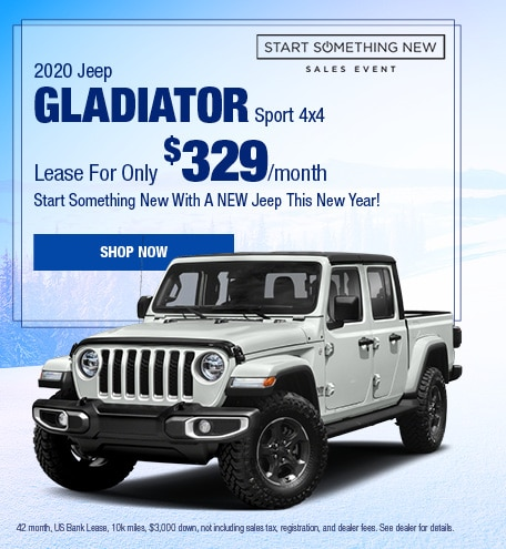 2020 Jeep Gladiator January Offer