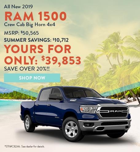 2019 Ram 1500 July Offer