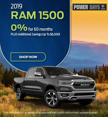 2019 Ram 1500 September Offer