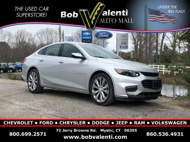 Used 2017 Chevrolet Malibu Premier w/2LZ Sedan in Mystic, CT
