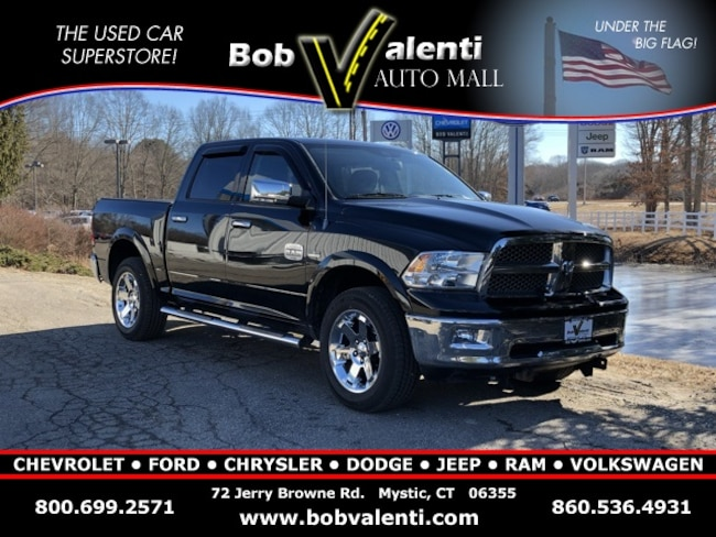 used 2012 Ram 1500 Laramie Longhorn/Limited Edition 4x4 Crew 5.7ft Truck Crew Cab For sale Mystic, CT