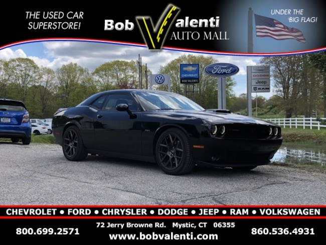 Used 2017 Dodge Challenger R/T Coupe in Mystic, CT