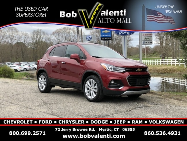 Used 2018 Chevrolet Trax Premier SUV in Mystic, CT