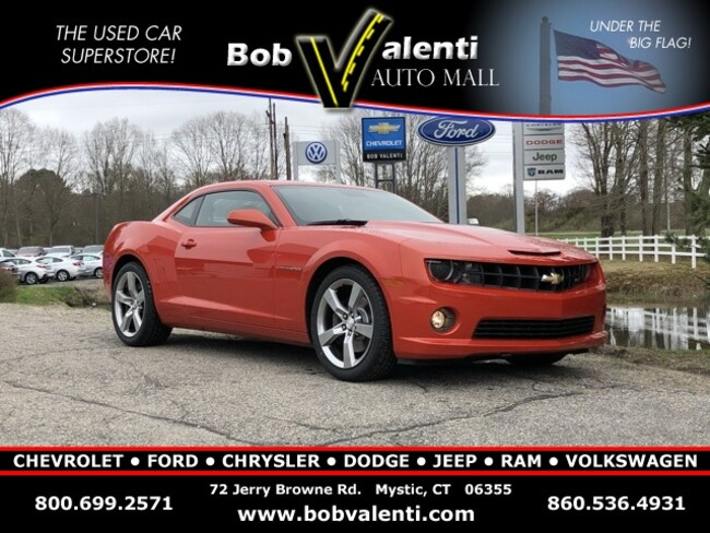 Used 2010 Chevrolet Camaro Coupe in Mystic, CT