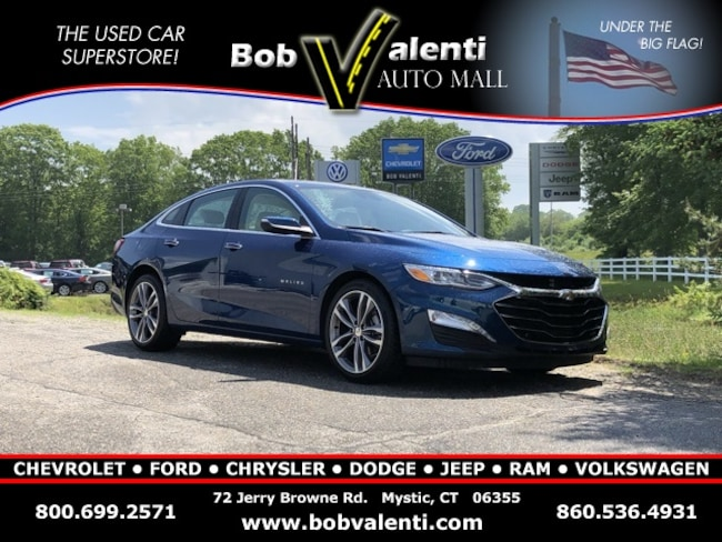 Used 2019 Chevrolet Malibu Premier Sedan in Mystic, CT