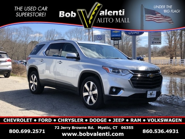 Used 2018 Chevrolet Traverse LT Leather SUV in Mystic, CT