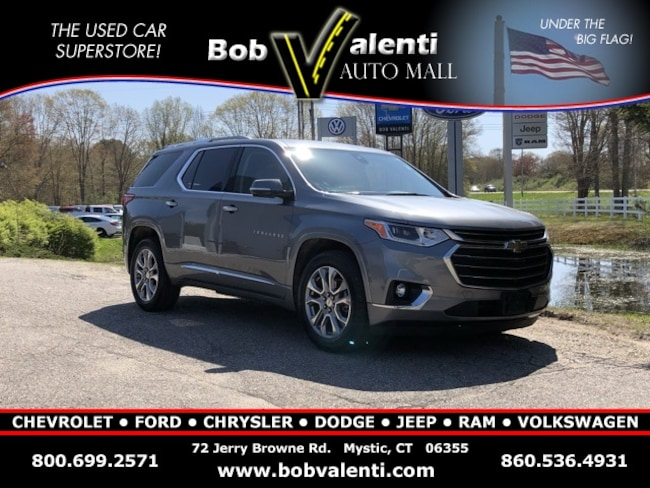 Used 2018 Chevrolet Traverse Premier SUV in Mystic, CT