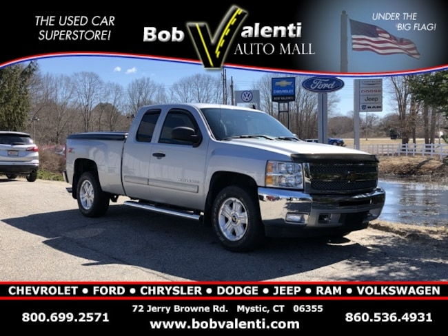 Used 2013 Chevrolet Silverado 1500 LT Truck Extended Cab in Mystic, CT