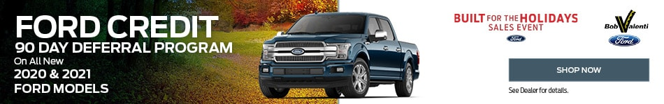 Ford Credit 90 Day Deferral Program