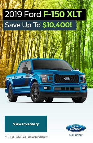 2019 Ford F-150 April Offer