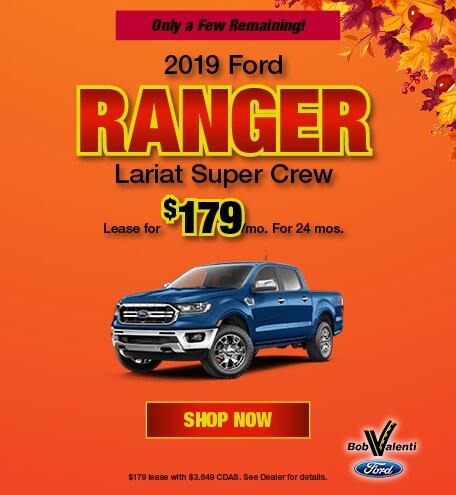 2019 Ranger October Offer