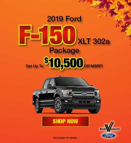 2019 F-150 October Offer