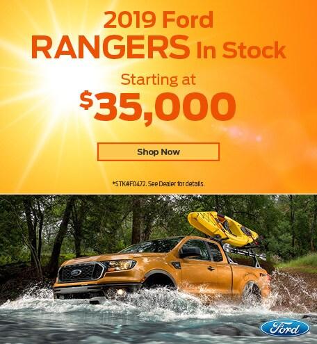 2019 Ford Ranger June Offer