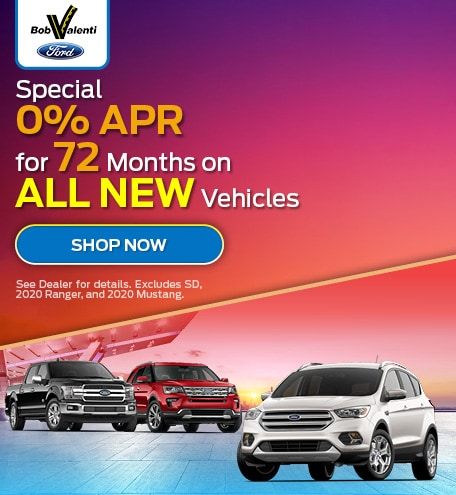 Special 0% APR for 72 Months on ALL NEW Vehicles