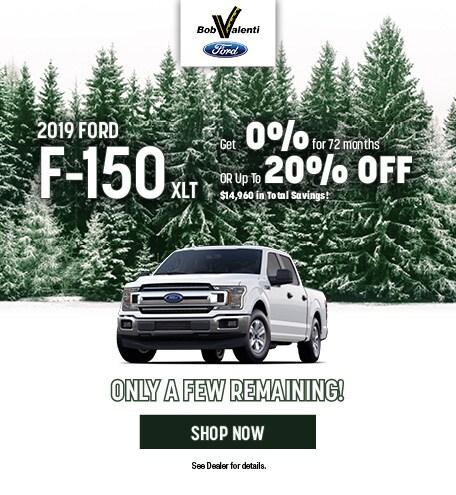 2019 Ford F150 December Offer