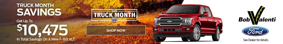 Get Up To $10,475 In Total Savings On A New F-150 XLT