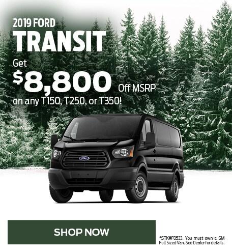 2019 Transit January Offer
