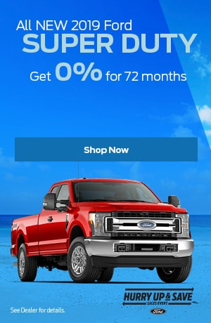 2019 F-250SD August Offer