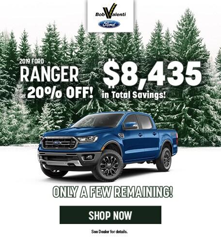 2019 Ford Ranger December Offer