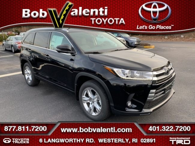 New 2019 Toyota Highlander Limited SUV For Sale/Lease Westerly, RI