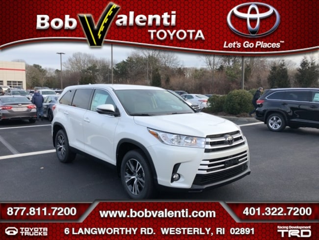 New 2019 Toyota Highlander LE Plus SUV For Sale/Lease Westerly, RI