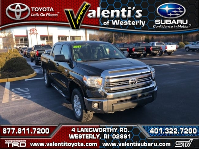 Certified Pre-Owned 2017 Toyota Tundra Truck CrewMax For Sale Westerly, RI