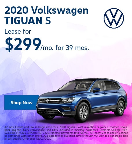 2020 Tiguan May Offer