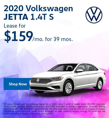 2020 Jetta May Offer