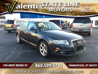 Pre-Owned 2011 Audi A6 3.0 Premium Sedan WAUBGAFB3BN022841 for Sale in Old Saybrook, CT