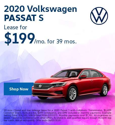 2020 Passat May Offer
