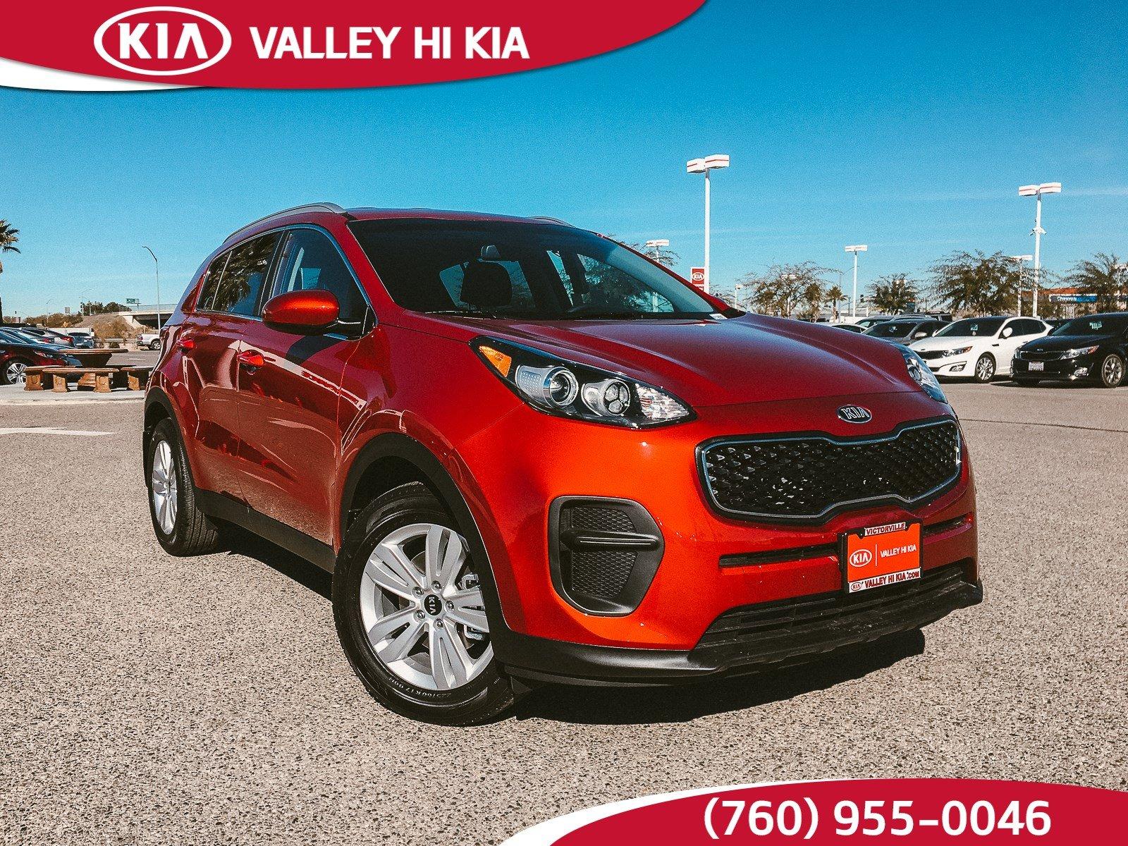 Valley Hi Kia >> New Kia Sportage In Victorville Ca Inventory Photos Videos