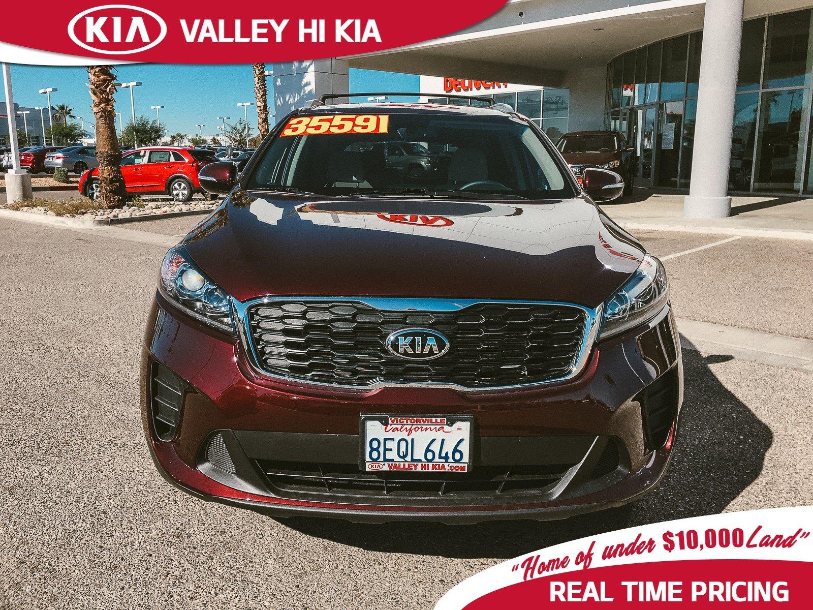 Valley Hi Kia >> Used 2019 Kia Sorento For Sale Victorville Ca Near Fontana