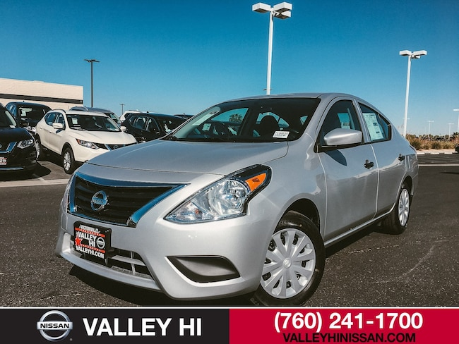 New 2019 Nissan Versa 1.6 S+ Sedan in Victorville, CA