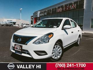 New 2019 Nissan Versa 1.6 S+ Sedan 7190333 in Victorville, CA