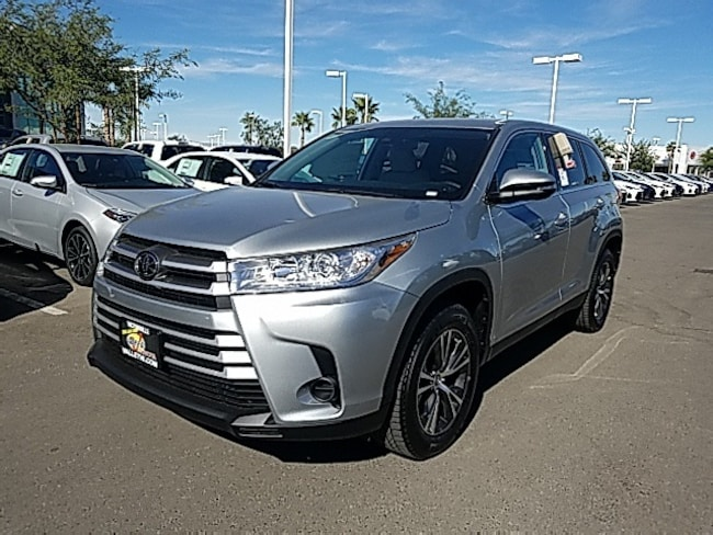 New 2019 Toyota Highlander SUV For Sale in Victorville, CA