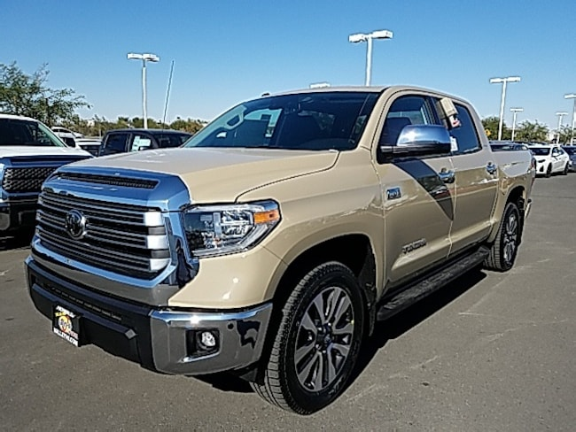 New 2019 Toyota Tundra Limited 5.7L V8 Truck CrewMax For Sale in Victorville, CA