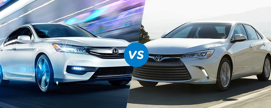 Comparison: 2017 Honda Accord vs 2017 Toyota Camry