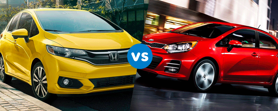 Comparison: 2017 Honda Fit vs 2017 Kia Rio