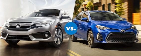 Corolla Vs Civic 2017 >> Comparison 2017 Honda Civic Vs 2017 Toyota Corolla Cma S
