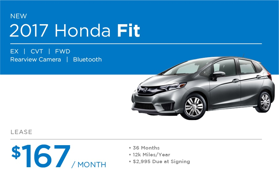Attractive Honda Fit Special Offer