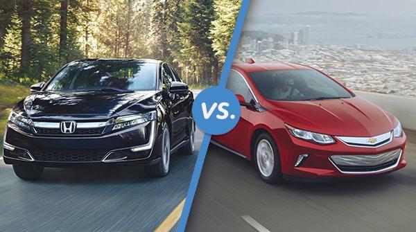 Comparison 2018 Honda Clarity Plug In Hybrid Vs 2018 Chevrolet Volt