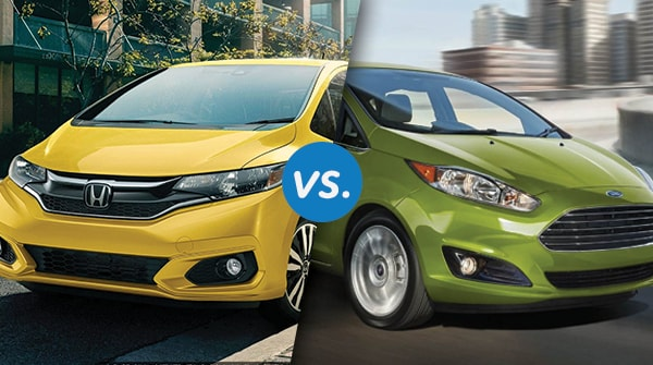 Comparison: 2018 Honda Fit Vs 2018 Ford Fiesta