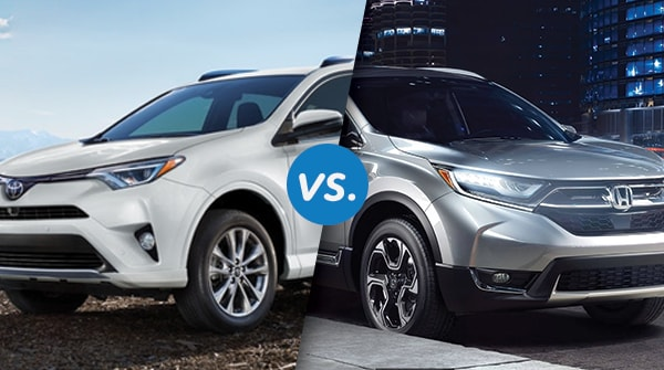 Comparison: 2018 Honda CR-V vs 2018 Toyota RAV4