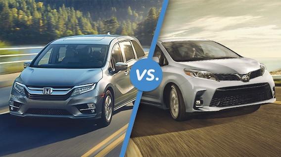 Honda Odyssey Vs Toyota Sienna >> Comparison 2018 Honda Odyssey Vs 2018 Toyota Sienna Cma S