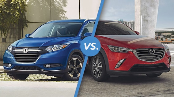 Mazda Cx 3 Vs Honda Hrv >> Comparison 2018 Honda Hr V Vs 2018 Mazda Cx 3 Cma S