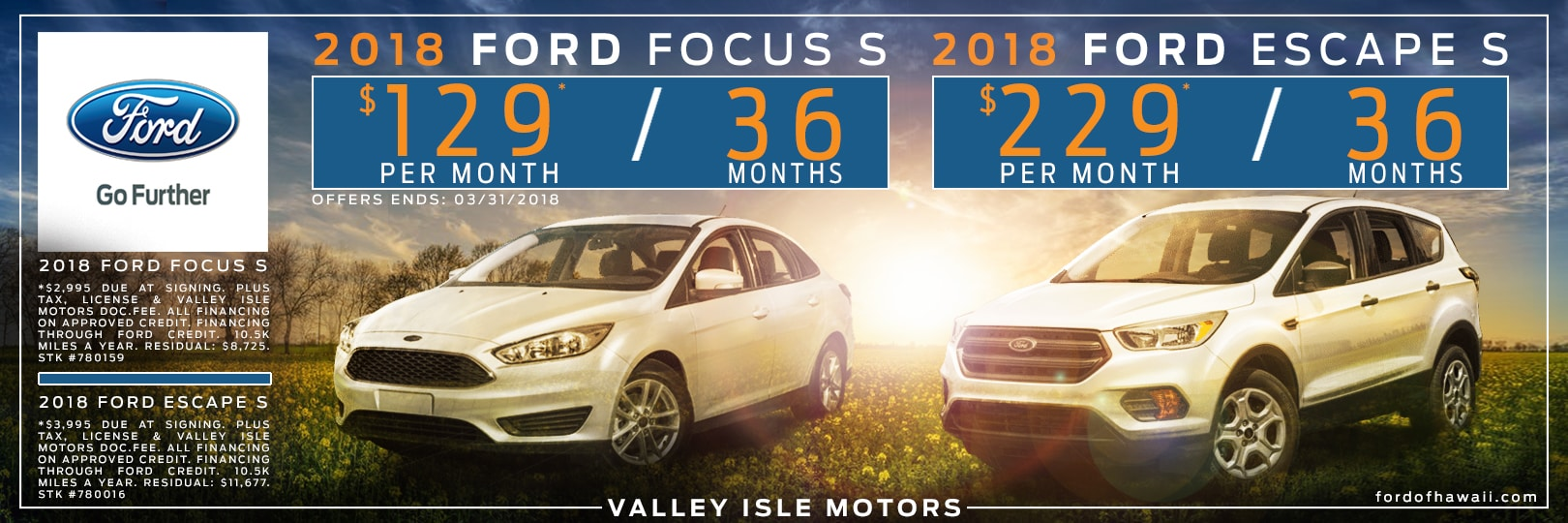 Kahului\'s Valley Isle Motors Ltd | New 2018-2019 Ford & Used Car ...