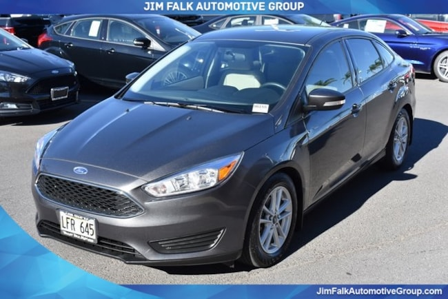 Discounted bargain used vehicle 2016 Ford Focus SE Sedan for sale near you in Kahului, HI
