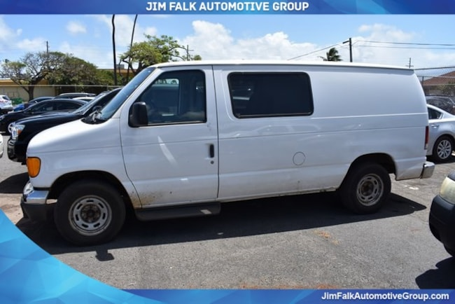 Discounted bargain used vehicle 2006 Ford E-150 Commercial Cargo Van for sale near you in Kahului, HI